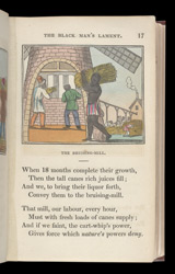 Plate from 'The Black Man's Lament; or How To Make Sugar', 1826